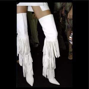 Shoes - 💎🆕 Hot Fringe over the knee boots